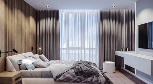 Дизайн спальной комнаты бэкграунд
