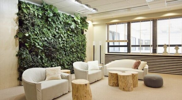 Эко стиль в помещении от Planka Studio